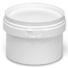 280ml white bucket with lid